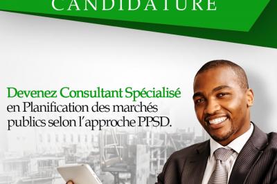 Devenez consultant spécialisé en Planification des Marchés Publics selon la démarche PPSD de la Banque Mondiale.