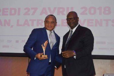 Adama Bamba, prix du meilleur expert emploi jeune 2018
