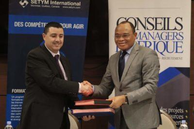 Administration publique: Deux sociétés signent un protocole d'accord pour le renforcement des capacités des cadres et des services