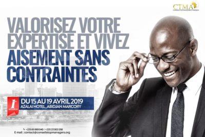 FORMATION ( 15-19 avril 2019 ) : Devenir consultant et Gagner des marchés